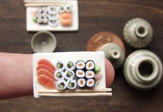 Miniature Food - Sushi | Flickr -  by petitplat