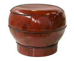 Cajita china de madera - Ø30 cm