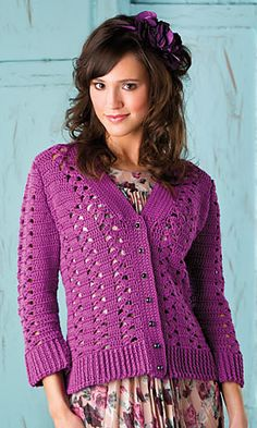Ravelry: Crocus Lace Cardigan pattern by Ann E. Smith