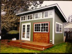 Slant Roof. custom built, garden shed, mother in law home, playhouse