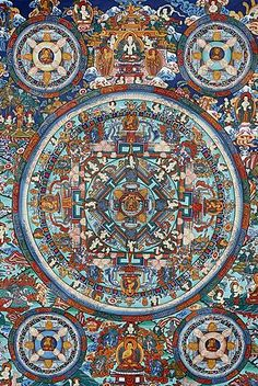Inch Print - High quality prints (other products available) - Mandala on a Tibetan thangka, Bhaktapur, Nepal, Asia - Image supplied by WorldInPrint - Photograph printed in the USA Tibetan Art, Tibetan Buddhism, Tibetan Mandala, Buddhist Art, Fine Art Prints, Framed Prints, Canvas Prints, Nepal Art, Poster Size Prints