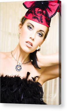 Accessories Acrylic Print featuring the photograph Dancing Show Girl by Jorgo Photography - Wall Art Gallery