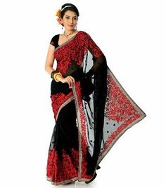 Designersareez Self Design Fashion Georgette Sari in Rs.1999 (55% Off)