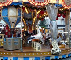We discovered this carousel at the Strasbourg Christmas markets while on a walking tour with @AmaWaterways. #boomer #cruise