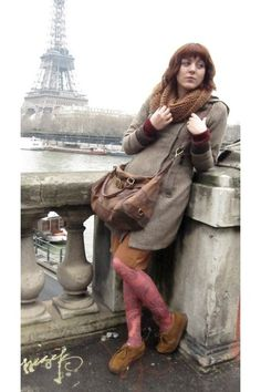 SolitaryConsignment found her Clarks Wallabees chic enough for a trip to Paris.