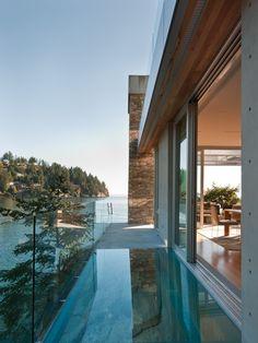 glass terrace!