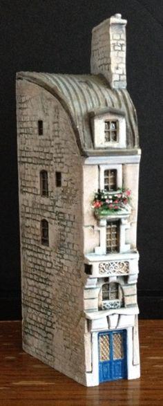 les toits de Paris avec verrière Über den Dächern von Paris en