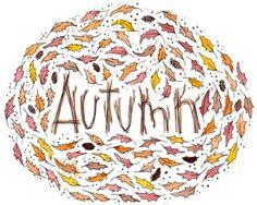 Lucy Engelman. Autumn. Illustration for Bits of Yarn