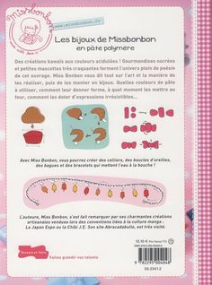 Amazon.fr - Les bijoux de Miss Bonbon en pâte polymère - V Masoni - Livres