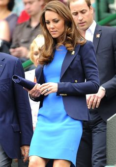 Kate Middleton's Olympics style.