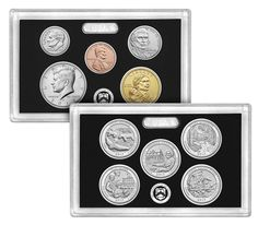 2017 Silver Proof Set 10 Coin Deep Cameo Mint Fresh Sold Out At US Mint