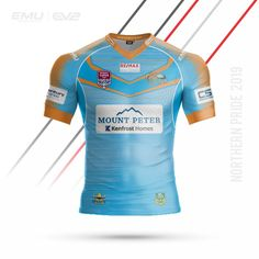 EMU Sportswear Kitbuilder allows any team to choose their items & customise them to suit their teams colours & style. Jersey Designs, Team Wear, Rugby League, Cairns, Workout Wear, Team Logo, Activewear, Sportswear, Suits