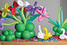 Já imaginou decorar a Festa de Aniversário do seu filho, ou mesmo o quarto dele, com balões?  Aqui ficam umas ideias para se inspirar na dec...