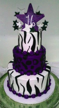 Image detail for -... Cool Cakes from Stan's Northfield Bakery: Zebra and Cheetah Cake