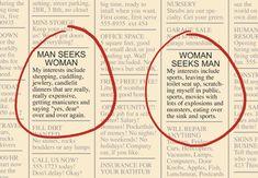 Historia de los anuncios para buscar pareja