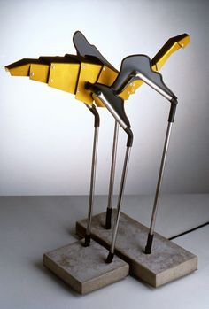'Scaragoo' lamp, designed by Stefan Lindfors for Ingo Mauer GmbH, 1988.