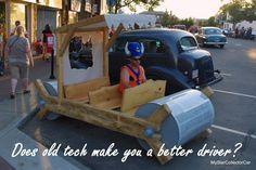 Does an old tech car make you a better driver? READ MORE: http://mystarcollectorcar.com/good-news-an-old-car-is-not-…/