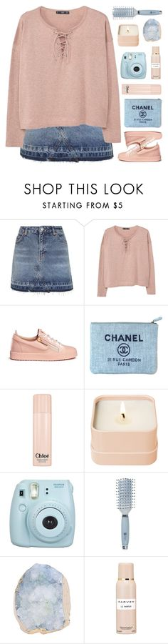 """""""HELLO MARCH ♡"""" by emmas-fashion-diary ❤ liked on Polyvore featuring Topshop, MANGO, Giuseppe Zanotti, Chanel, Chloé, Henri Bendel, Fujifilm, Goody and Carven"""