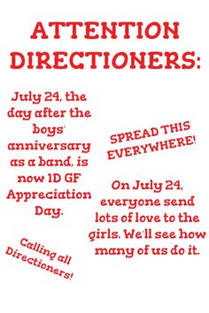 CALLING ALL MY DIRECTIONERS!!!!  SPREAD THIS EVERYWHERE!!!!! Lets all work together to send lots of love to the girls!!!!!! Who's with me???