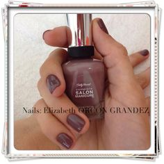 Manicure Nails Sally Hansen  Commander in Chic