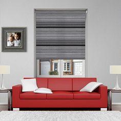 LUXE MONOCHROME 12V BATTERY POWERED ELECTRIC ROLLER BLINDS. Visit: https://goo.gl/GR93uv    #Shades #Home #HomeDecor #InteriorDesign #Decor #RollerBlinds  #CreateYourHome #BudgetBlinds #WindowShades #Window  #Design #Blind #WindowCoverings #Windows #MadeinUK