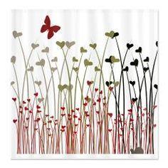 Garden of Hearts Shower Curtain > Garden of Hearts > Izmet's Dream