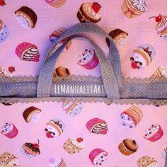Hand made by LeManualitArt: Bolsa porta tartas de tela