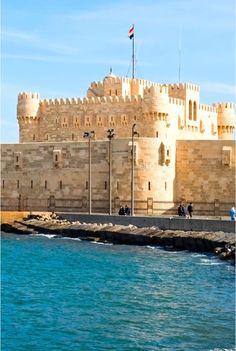 Citadel, Alexandria, Egypt.