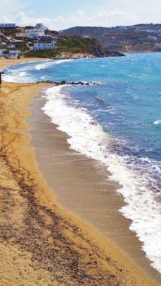 #Mykonos ,#Megali_ammos #beach!