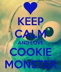 I Looooooveee Cookie Monster <3