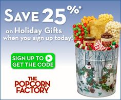 Tri Cities On A Dime: HOLIDAY GIFT IDEA FROM THE POPCORN FACTORY - GET 2...