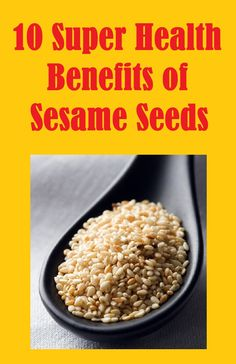 Sesame (Sesamun indicum) is one of the oldest cultivated plants in the world, prized as an oilseed for at least 5,000 years. While it is beginning to regain favor due to its exceptionally high #calcium and #magnesium content, few realize it is also one of the most potent medicinal foods still commonly consumed today.... http://slimmingtips.givingtoyou.com/benefits-of-sesame-seeds
