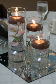 Cherry Blossom Vase Centerpieces (**pending Sale**), 40% off | Recycled Bride