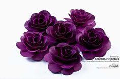Purple Wood Roses