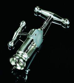 A unique satin-finish reproduction corkscrew made by a small Italian family-run company in Friuli-Venezia Giulia ($200)