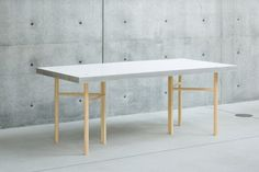 Sponge Table by Jo Nagasaka of Schemata Architects in Tokyo, Japan