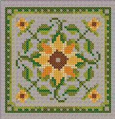 Sunflower ~ freebie from Châtelaine Designs   Many more on her site!