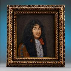 Original miniature portrait painting by Swiss miniaturist Jacques Antoine Arlaud of King Louis XIV. Circa Miniature portraits for sale at M. Louis Xiv, Ludwig Xiv, Miniature Portraits, Moving To Paris, Victoria And Albert Museum, Rare Antique, 17th Century, Vintage Antiques, Miniatures