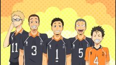 That's rough, buddy. Haikyuu Karasuno, Kuroo Tetsurou, Nishinoya, Haikyuu Yaoi, Haikyuu Ships, Tsukishima Kei, Haikyuu Volleyball, Volleyball Anime, Haikyuu Season 1