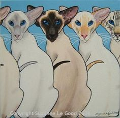 Suzanne Le Good - I am Siamese if you please...