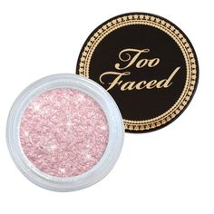 Too Faced Glamour Dust | looks really good for highlighting cheekbones!