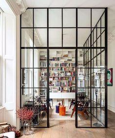 ariel okin (@arielokin) • Instagram photos and videos Loft Interior, Modern Interior Design, Interior Design Inspiration, Interior Architecture, Design Interiors, Interior Ideas, Home Office, Office Spaces, Kensington House