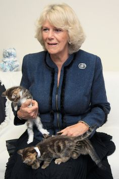Duchess Of Cornwall Opens New Cattery At Battersea Dogs Home