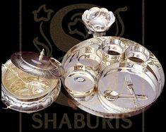 Bridal Jewelry, Silver Jewelry, Silver Accessories, Silver Market, Silver Pooja Items, Indian Jewelry, Unique Jewelry, Ice Cream Bowl, Silver Ornaments