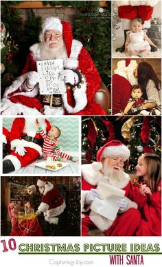 10 Christmas Picture Ideas with Santa
