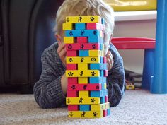 Paw Patrol Tumbling towers Game from Spinmaster