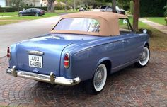1959 Peugeot 403 Cabriolet Grand Luxe by Pininfarina