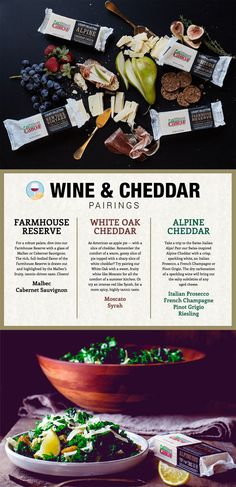 Use this informative Wine and Cheddar Pairing guide to help you choose the right Legacy Collection cheddar to go with your favorite wine. And if beer is your adult beverage of choice, we haven't left you out. Our Beer and Cheddar Pairing guide makes choosing the best Legacy Collection cheddar to enhance the flavor of your favorite brew fun and oh-so-easy.