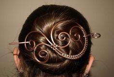 wire hair accessories | more hair stuff :) | Wire-Hair Accessories | Pinterest