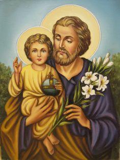 Personal Prayer, Godly Marriage, Catholic Religion, Saint Joseph, Catholic Prayers, Prayer Cards, Religious Art, Christianity, Beautiful Pictures